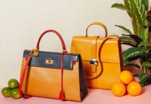 Vintage handbags at Fellows