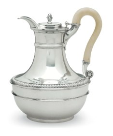 A George III silver pitcher