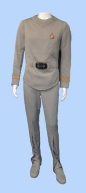 costume worn by Leonard Nimoy as Spock in the first Star Trek film