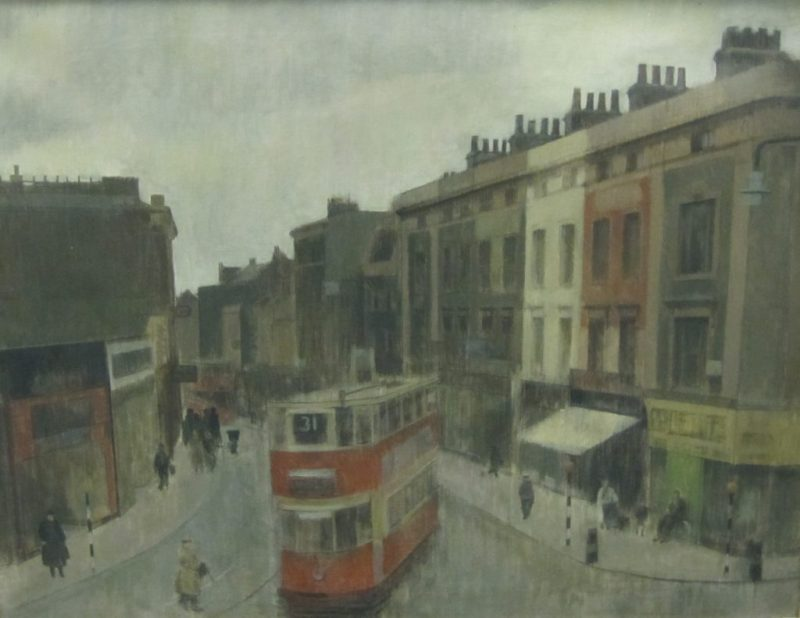 Sir Lawrence Gowing's 'Mare Street, Hackney'.