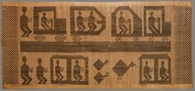 Tribal art tapestry
