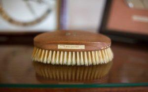 Churchill's hairbrush
