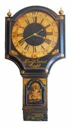Antique tavern clock