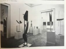Robert Adams Plane, Curve and Circle, 1960, bronzed steel sculpture