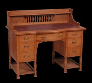 Shapland & Petter kneehole desk