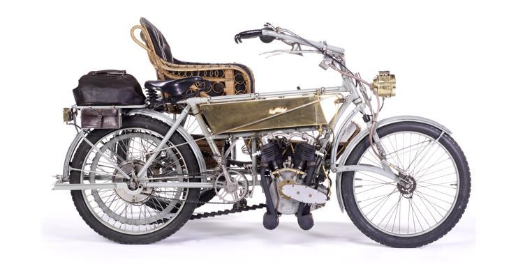 1907 Vindec Special 5hp & Graham Brothers Sidecar, estimate £30,000-40,000