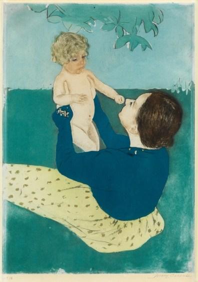 Mary Cassatt's Under the Horse Chestnut Tree