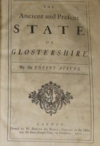 The Ancient and Present State of Glostershire