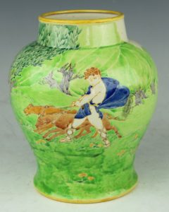 A vase by Charles Vyse