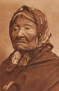 A portrait from Edward S. Curtis' The North American Indian