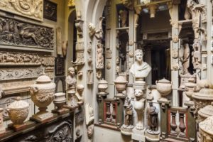 Inside Sir John Soane museum