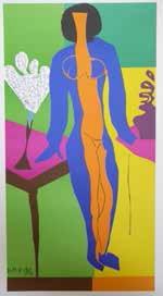 A Matisse lithograph