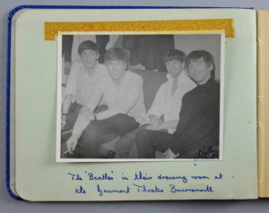 An impressive autograph album which features autographs and photo of The Beatles, plus many other stars, is valued at between £2,000 and £4,000