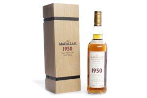 Macallan 1950 whisky