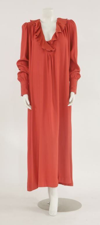 Zandra Rhodes vintage red dress