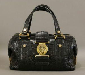 Gucci crocodile handbag