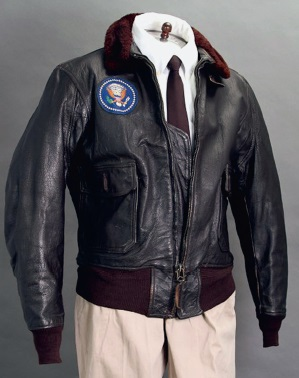 Leather jacket belonging to JFK