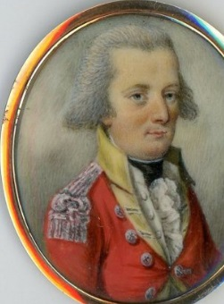 grey-haired officer from the Napoleonic era is traditionally understood to be from the Lambert family of Woodmansterne