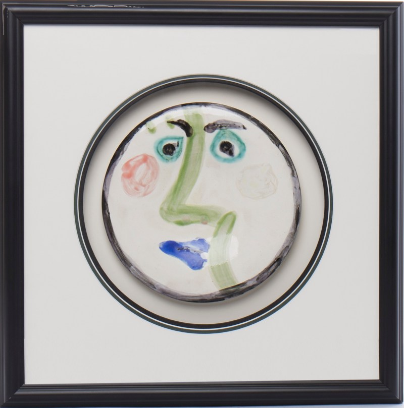 The Picasso plate that sold for £4300
