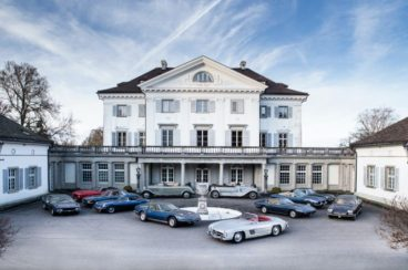 Classic cars found in a Swiss castle for sale at Bonhams