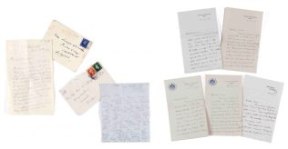 A collection of cards and letters exchanged by David Lloyd George and Jennifer Longford