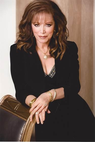 Jackie Collins portrait