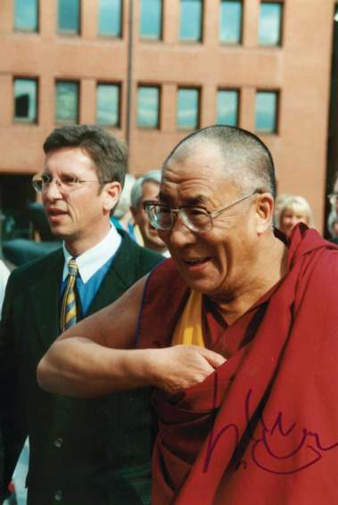 Photograph of Dalai Lama