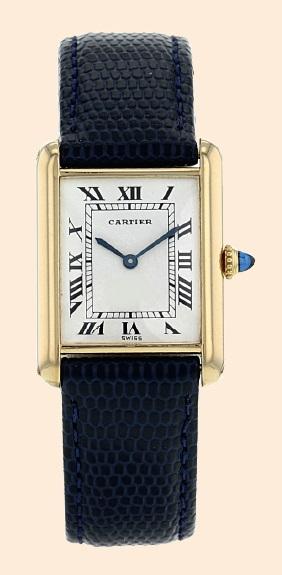 The Cartier Tank antique watch