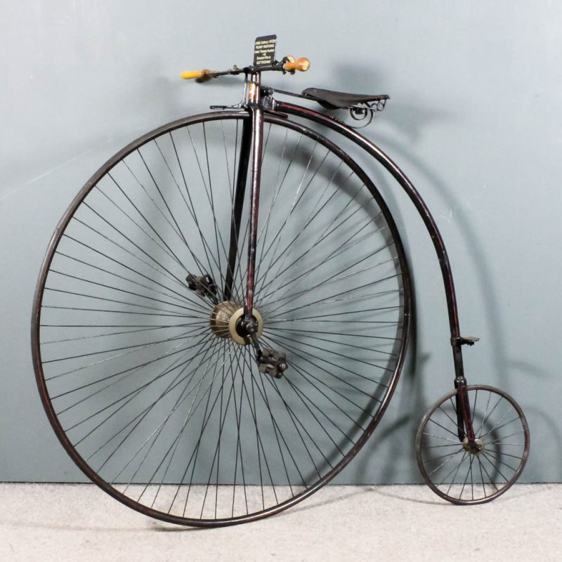 """A Victorian """"Penny-Farthing"""""""
