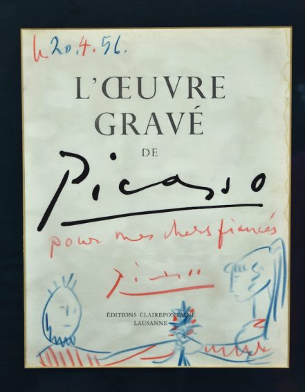 Sketch by Picasso in Cheffins sale