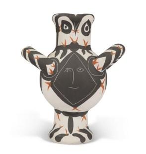 gros oiseau visage noir by Pablo Picasso