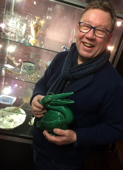Antiques expert Mark Stacey