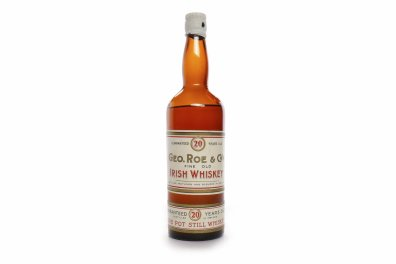 George Roe and Co Irish whisky sells at auction for £3600