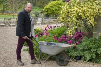 James Masters, head gardener at Standen