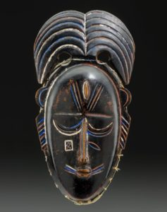 A tribal art mask