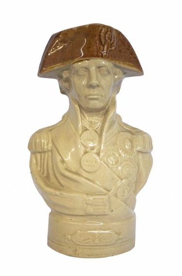 A Staffordshire bust of Nelson