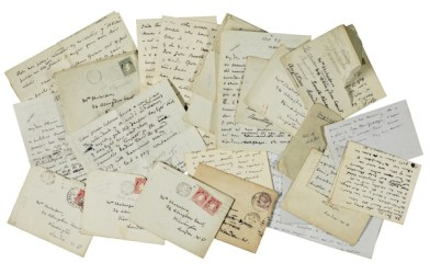 W.B. Yeats letters to Olivia Shakespear
