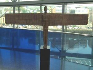 Marquette of the Angel of the North