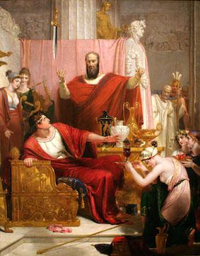 Richard Westall's Sword of Damocles