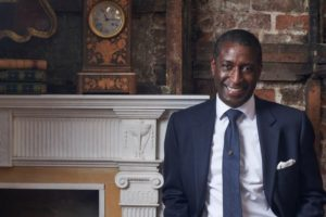 Lennox Cato of the BBC's Antiques Roadshow
