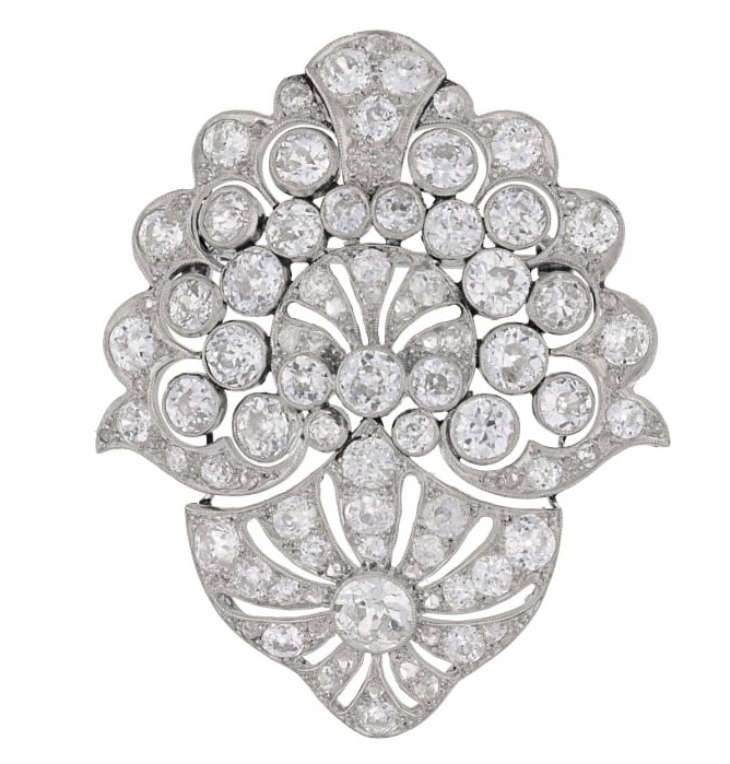 A similar diamond brooch available at Susannah Lovis