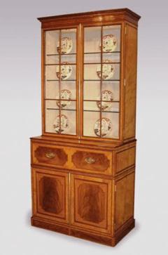 Antique secretaire bookcase