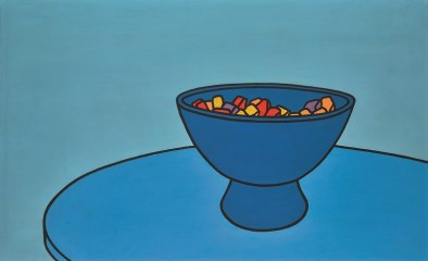 Patrick Caulfield R.A., Sweet Bowl in Sotheby's sale with estimate of £300,000 - 500,000 - sold for £524,750