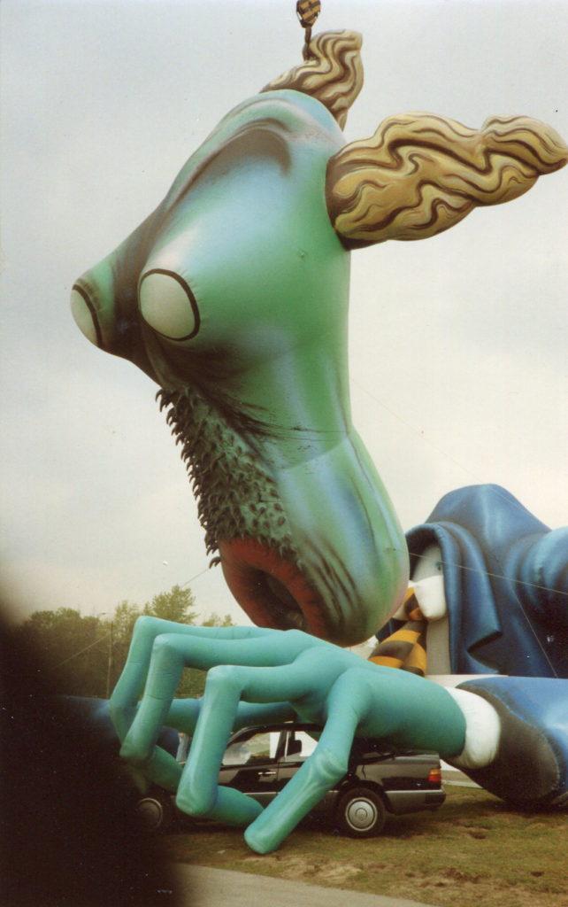 Pink Floyd The Teacher inflatable
