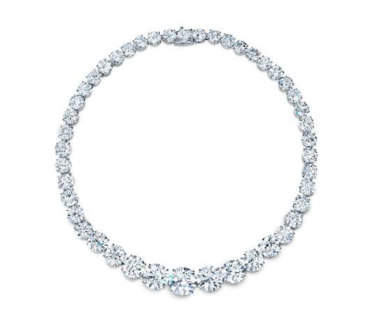Zsa Zsa Gabor's diamond necklace