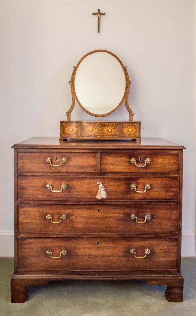George III mahogany chest