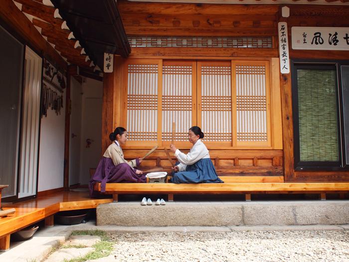 Traditional Korean House Hanok