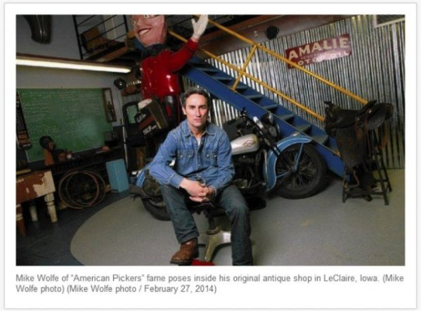 mike wolfe, american pickers, history channel, antique archaeology, kid pickers, antiques, vintage tee