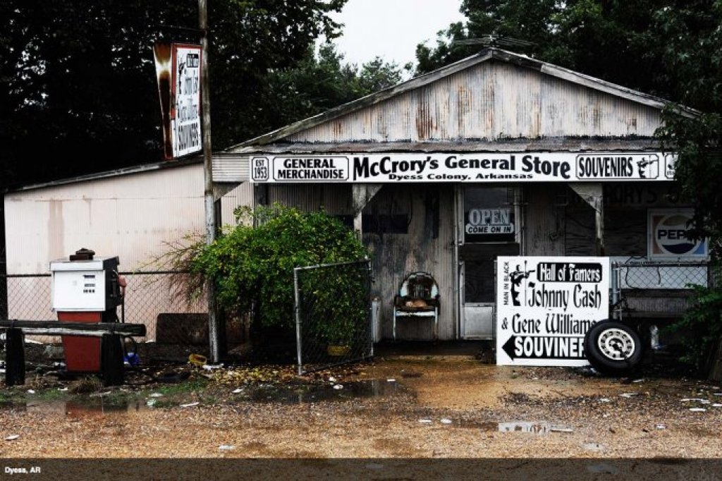 McCrory's General Store in Dyess, Arkansas