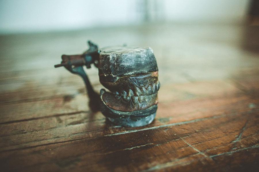 Antique dentures